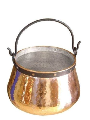 feuerzangenbowle kupfer 'CopperGarden' Kupferkessel 40 Liter 'verzinnt'