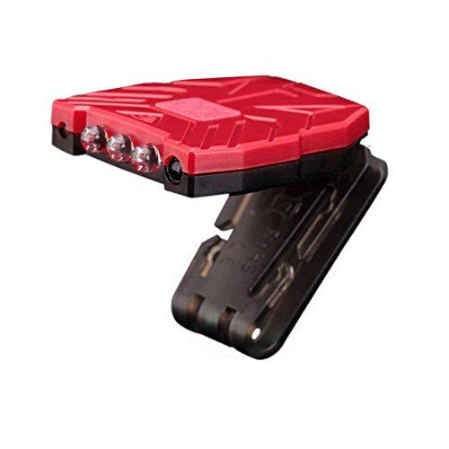 Ebilun Led Induktionslampe, Scheinwerfer Cap / Hut Clip Licht, Nacht Angeln Lampe, Motion Sensor, USB Charge, Für Arbeit, Camping, Laufen, Wandern, integrierte Lithium-Batterie. (Camping Motion Sensor)