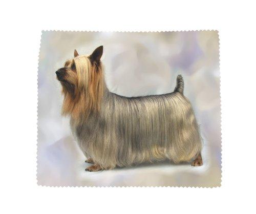 Australian Silky Terrier, weich, inkl. Mikrofaser-Reinigungstuch -