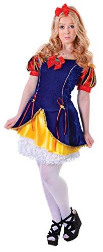 Schnee Beauty - Teen Kostüm - Größe 6 bis (Kostüme White Teen Snow)