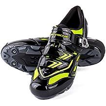 RONDA Zapatillas de Ciclismo Carretera, Impermeables para Hombres, Sudor Absorbente, Ligero, Transpirable