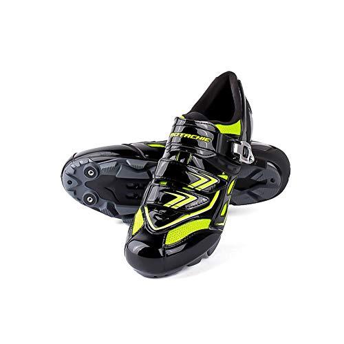 Scarpe bici da ciclismo da strada, impermeabili traspiranti assorbenti per il sudore da uomo Impermeabili anti-scivolo da bici leggere per bici da MTB Bicicletta da corsa Sport all'aria aperta
