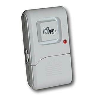 Minder Loud Door Window Vibration Shock Glass Break Alarm 110dB - Also ideal for caravans, motorhomes
