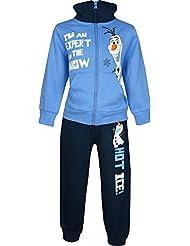 Niños Disney Frozen Olaf Chándal / Jogging Conjunto Azul