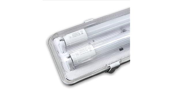 Plafoniera Neon Led 120 Cm : Lineteckled u e n kit röhren neon led transparent
