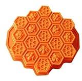 J * MYI Cellular Honeycomb Silikon Form Kuchen Form Seife Form Backen Form