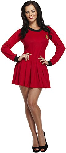 D/UP ADULT DRESS SPACE TRAVELLER RED
