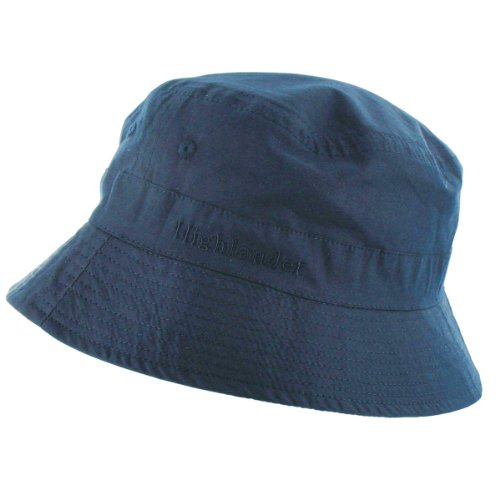Highlander Premium Sun Hat - Navy, X-Large