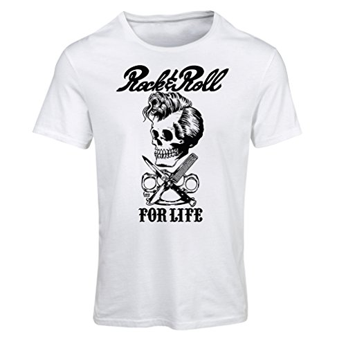 T Shirts for Women Rock and Roll for Life - 1960s,1970s, 1980s - Vintage Band - Musically - Concert Clothing