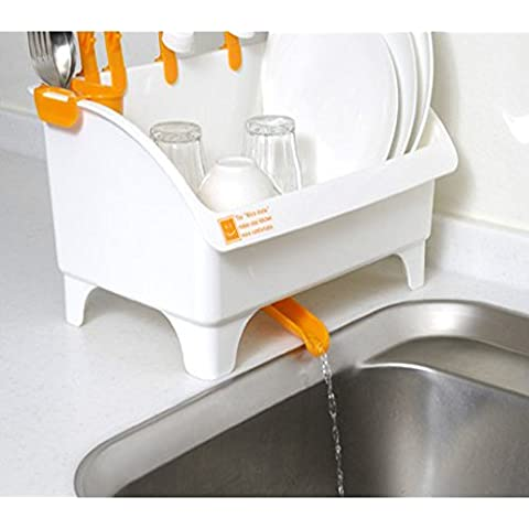 CLG-FLY inox ciotola doppia cremagliera Siu Lek Yuen acqua cucina rack rack in un cestello di lavastoviglie scolapiatti piatto, il ripiano #29 con alta qualità