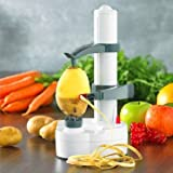 Electric Auto Rotating Potato Peeler Pea...