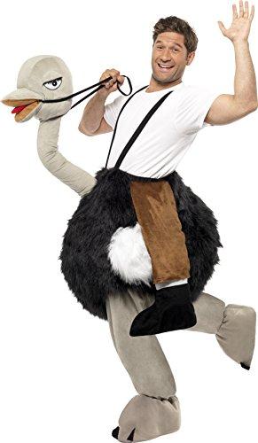Smiffys, Herren Strauß Kostüm, Hose, One Size, 32296 (Strauß Bein Herren)