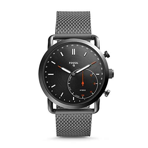 Fossil Smartwatch Uomo con Cinturino in Acciaio Inox FTW1161