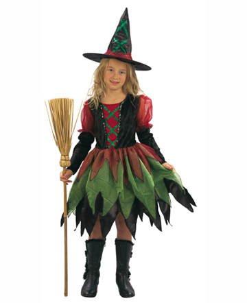 Witch Kostüm Fairy - Kinder-Kostüm Fairy Witch, 7-9 Jahren PREISHIT