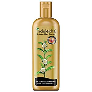 Indulekha Bringha Shampoo, Proprietary Ayurvedic Medicine for Hair Fall, 340ml