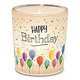 Preis am Stiel Windlicht Happy Birthday