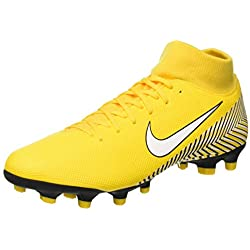 Nike Superfly 6 Academy NJR FG/MG, Zapatillas de Fútbol Unisex Adulto, (Amarillo/White/Black 710), 43 EU