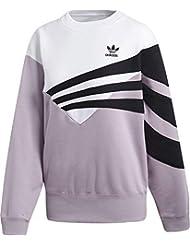 adidas Sweater Sudadera, Mujer, (vissua/Blanco/Negro), 36