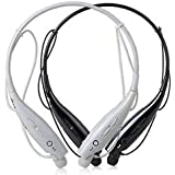 odestro® HBS-730 PRO Wireless Bluetooth Headset Sports Neckband Jogger Bluetooth Headphone Sweatproof with Noice Cancelling Mic Handfree deep Bass Earphones Support for All Smartphones {Multicolour}