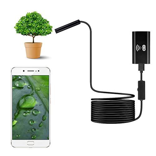 Preisvergleich Produktbild Telefonendoskop Android WiFi Endoskop Drahtlose Endoskopkamera Inspektionskamera Wasserdichtes HD Mit 8 Einstellbaren LED-Leuchten Für Android / IOS / Windows / Mac 7M Hard Line