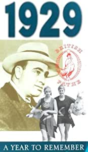 A Year To Remember: 1929 [VHS]
