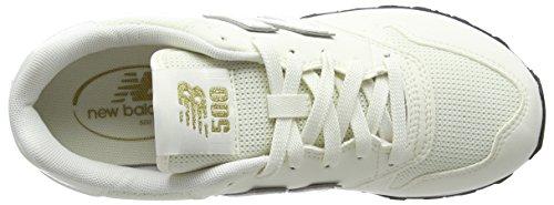 New Balance Gw500v1, Sneaker Donna Bianco (White/gold)