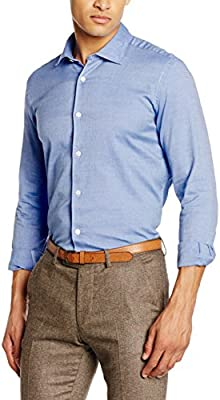 Scalpers Siena Shirt II 02:Blue, Camisa para Hombre