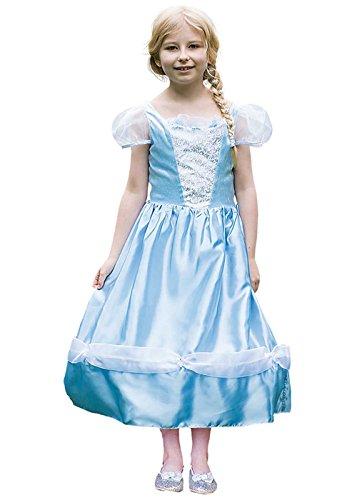 Magic Box Int. Mädchen Reversible Cinderella Prinzessin oder Braut Kostüm Large (9-11 Years) (Cinderella Kostüm Reversible)