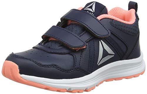 Reebok Almotio 4.0 2V, Zapatillas de Entrenamiento Unisex Niños, Azul (Collegiate Navy/Digital Pink/Silver Metallic 0), 28 EU