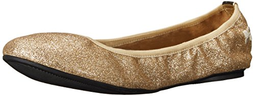 Butterfly Twists samantha, Ballerine donna Oro gold 38