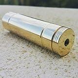 Deltavape - Thunder 25 V2 tubo meccanico ibrido da 25 mm, molla in argento 935/1000 (Ottone)