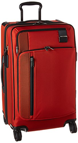 Tumi Merge - Short Trip Expandable 4.9 kg, 83.3 L Equipaje de Mano, 66 cm, 83.265 Liters, Rojo (Sunset Red)