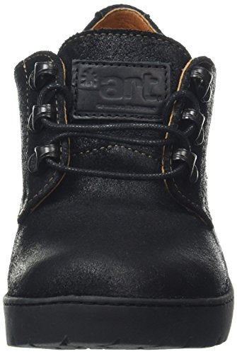 Stiefel Heeled Travel Shoe Damen waxy Black Art Black Lace WXpWn