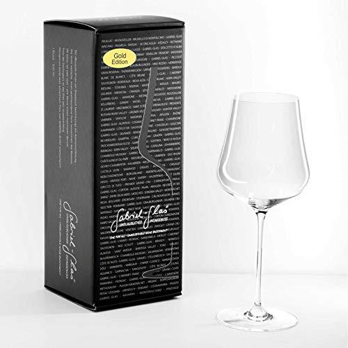 Gabriel Glas GOLD-Edition 1 Weinglas im Geschenkkarton