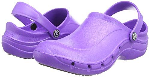 Toffeln  Eziklog, Chaussures de sécurité mixte adulte, Bleu (Light Blue), 39 Violet (Purple)