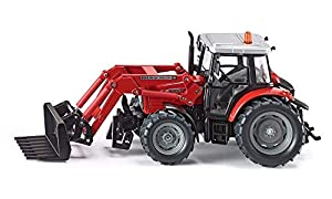SIKU 3653  - Tractor con Cargador Frontal (Colores Surtidos) Importado de Alemania