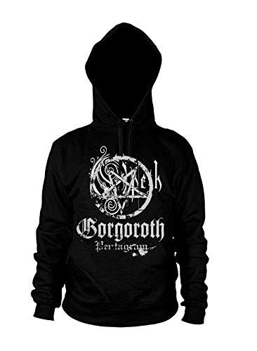 Gorgoroth Pentagram Hoodie M