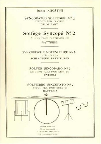 Solfege Syncope, Volume 2 Batterie