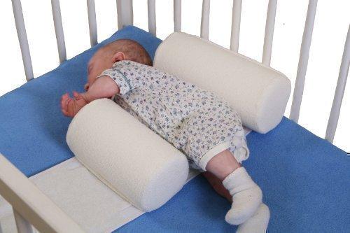 Sicherheitsrollen Lagerungskissen Stützkissen fürs Babybett, Bettwäsche