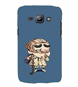 EPICCASE Ching Shang Mobile Back Case Cover For Samsung Galaxy J1 (Designer Case)