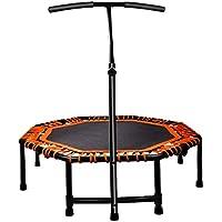 Preisvergleich für Indoortrampoline Trampolin Erwachsene Gym Trampolin Home Jumping Bed Indoor Kinder Trampolin Fitness Gewichtsverlust Ausrüstung (Color : Orange, Size : Diameter 117cm (48inches))
