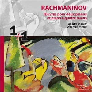 Rachmaninov : Oeuvres pour deux pianos et piano 4 mains (Coll. 1 + 1)