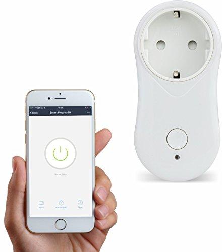 WiFi Smart Plug und Ausschalten der Elektronische ab überall ein Port USB mit Smart Fernbedienung Kalender für WAS für die Haushaltsgeräte, Freien IOS und Android App
