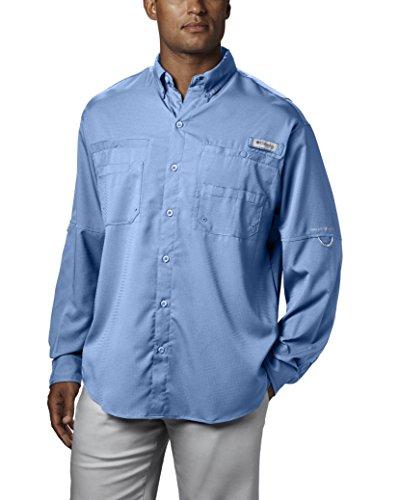 Columbia Herren Tamiami II Langarm Shirt, Segeln, X-Small (Sec-shirt)