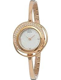 Titan Raga Analog Mother of Pearl Dial Women's Watch-NM95003WM01 / NL95003WM01