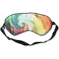 Sleep Eye Mask Rotate Color Lightweight Soft Blindfold Adjustable Head Strap Eyeshade Travel Eyepatch preisvergleich bei billige-tabletten.eu