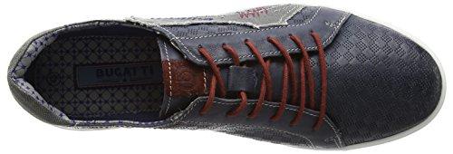 bugatti K10091g6 Herren Low-Top Blau (navy / jeans 424)