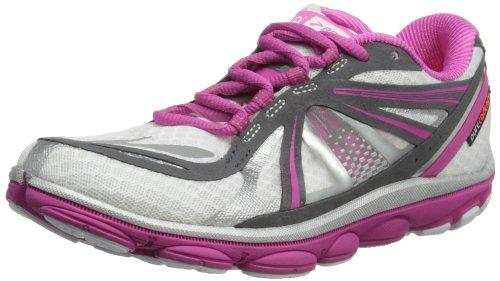 Brooks PureCadence 3W, Damen Laufschuhe, Pink - White/Fuschia/Anthracite - Größe: 42