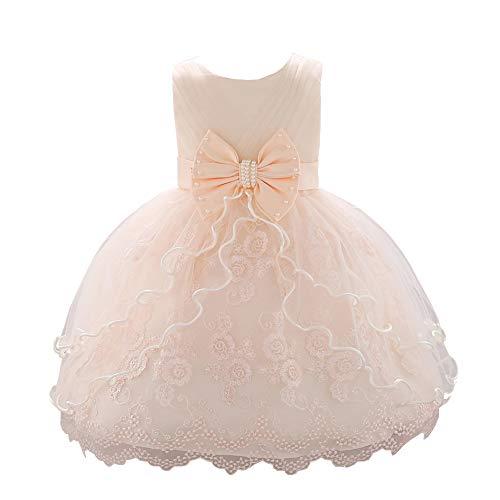 01a2e4807ddf YFCH Abiti da Battesimo per Le Neonate Principessa Abito da Sposa per  Bambini Festa di Compleanno