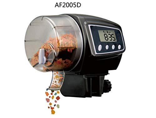 IU Desert Rose Fournitures pour la Maison Chargeur Automatique pour réservoir de Poissons de 1 pièce de Grande capacité pour Aquarium Noir (AF-2005D) (Couleur : AF-2005D)